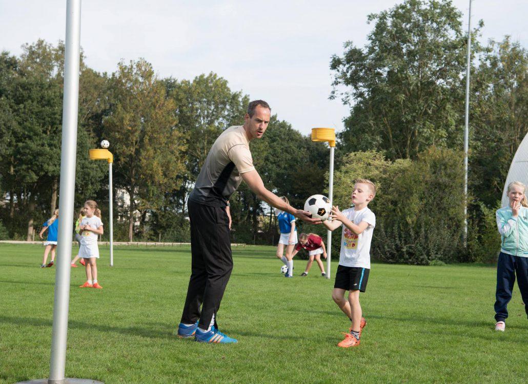 Plezier en ontwikkelen bij korfbalstars